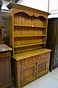 Antique Welsh pine two height dresser