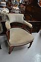 Antique Edwardian tub arm chair