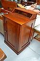 Antique Australian cedar Clerks desk, marked V-R