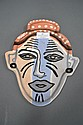 Giselle Art pottery mask dated '84
