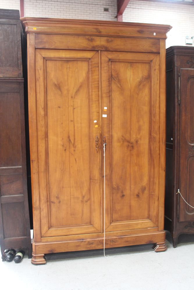 antique french louis philippe style armoire approx 224cm h. Black Bedroom Furniture Sets. Home Design Ideas