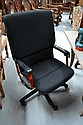 Comforto office chair, red and black.