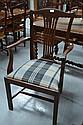 Georgian style arm chair