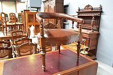 Antique 19th century carved walnut Renaissance