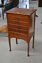 Vintage Mahogany music cabinet