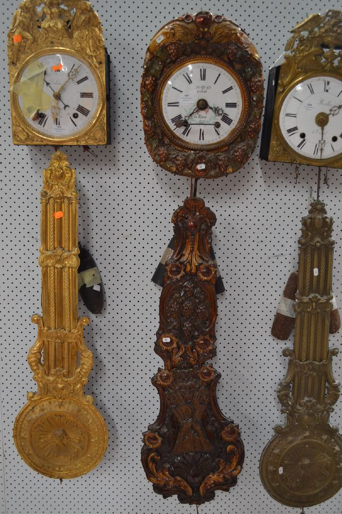 Comtoise Clock Movement