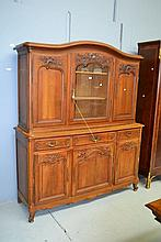 Antique French Louis XV style two height carved