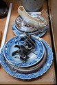 Four plates to include Copenhagen, Delfts, ceramic