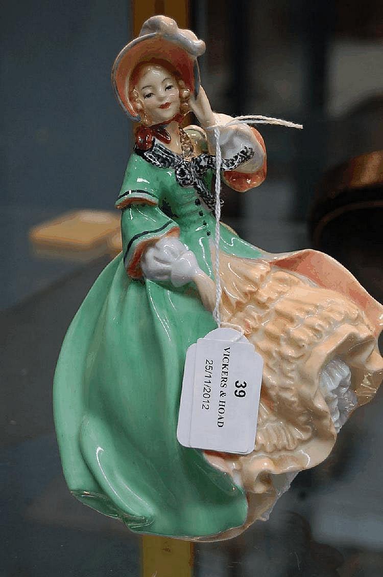 Royal Doulton figure Spring Morning HN1923. 18.5cm