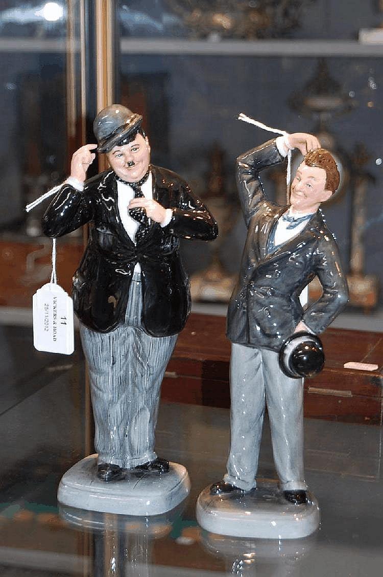 Royal Doulton figure Stan Laurel & Oliver Hardy.