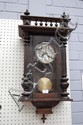 Antique French Henri II wall clock