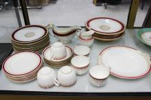 Royal Worcester part service along with another tea service