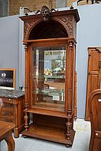 Impressive antique French Henri II walnut display
