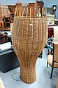 Darcy Clarke super cane and rattan floor lamp