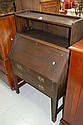 Vintage Art & Crafts oak bureau