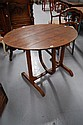 Antique French pine & oak Wine makers table