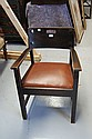 American oak Arts & Crafts arm chair