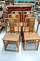 Set of 6 Chinese chairs (6)