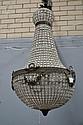 Large sized Modern Empire Style basket form