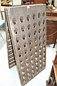 Antique French wooden A frame Champagne rack, 142