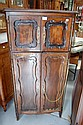 French four door Louis XV style beech cupboard,