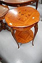 French floral marquetry Louis XV pedestal table