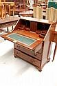 Small scale antique Georgian mahogany bureau,