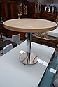 Little modern circular table by Stylecraft. 48cm h