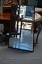 Wooden framed mirror, 105cmH x 56cm w