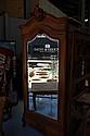 Antique French Louis XV single door armoire