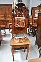 Antique 18th/19th century French walnut washstand,