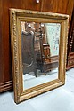 Gilt framed mirror approx 130cm x 105cm