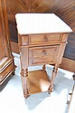 Antique marble topped nightstand