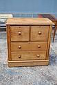 Antique Kauri pine four drawer chest