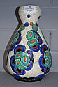 Fine French Art Deco ceramic vase by Charles