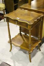 French small dressing table, approx 50cm W x 38cm D x 73cm H