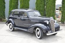 1937 Chevrolet 4 door sedan trunkless (GM style 37-1209) right hand drive, Production number 2,755 (LHD & RHD) from a total production of 825,220 in 1937. Straight 6 OHV 216 cubic inch 85 BHP at 3200 RPM. Manufacturing Plant GM Oshawa Canada Engine serial no R111650 (R right hand drive model) Body Serial No 56604 Paint Toronto Blue (GM paint No 217) First Registed September 1st 1937 at Nelson New Zealand Plate No CQ 367 Number of owners 2 (its owner from 1st 9th 1937 to 29th 6th 1977. 2nd owner to today. Odometer reading 00278 (post 85 rebuild) Also available post sale a host of 1937 Assemblies and Replacement parts. List available on request of the office. Comes with full 12 months rego. New Plates GM 37. This car has been a 30 year project in the making, a full ground up restoration with no expense spared.
