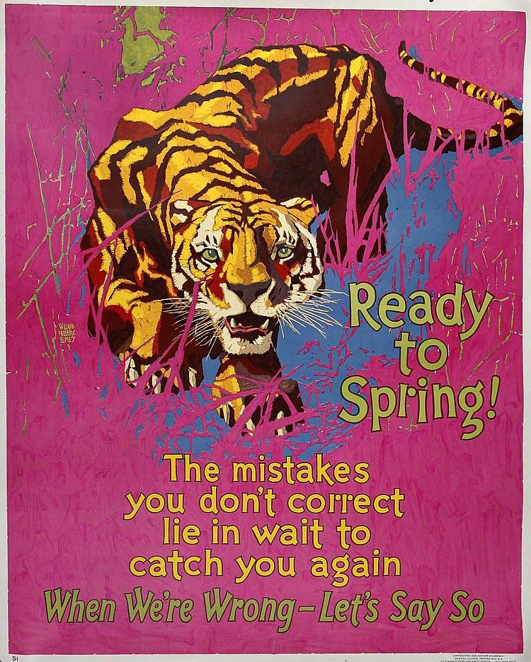Willard Frederic Elmes; Zehn Plakate, 1929