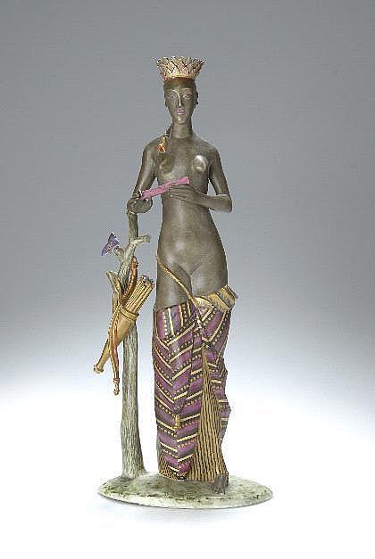 Josef Wackerle, 'Indianerin', 1921