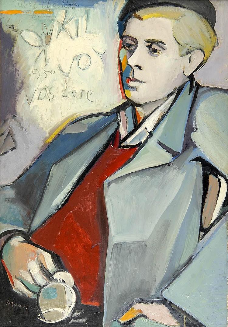 Otto Schauer, Porträt Wolf Uecker, 1950