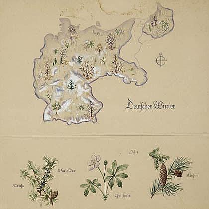 Ernst Wille, Four seasons, ca. 1935