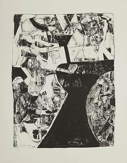 Josef Fassbender, Composition, 1962