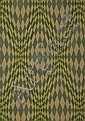 Karl Hermann Haupt, Textile design, rhombes in blue and green, around 1926, Karl Hermann Haupt, Click for value