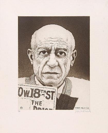 Lincke, Hartmut Picasso, um 1975