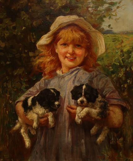 William Banks Fortescue RA, RBA C.1855-1924 British