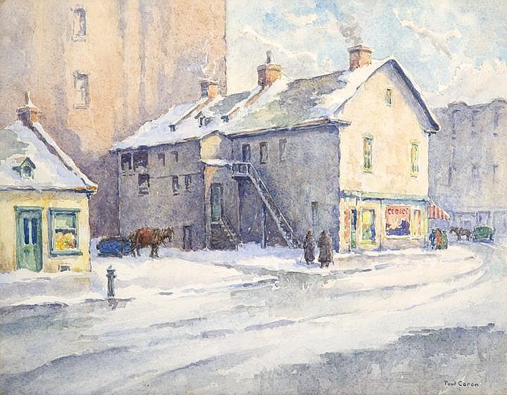 Paul Archibald Caron 1874-1941 ARCA