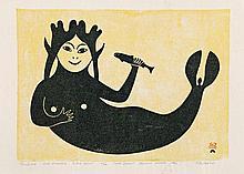 Paulassie Pootoogook RCA (1927-2006)