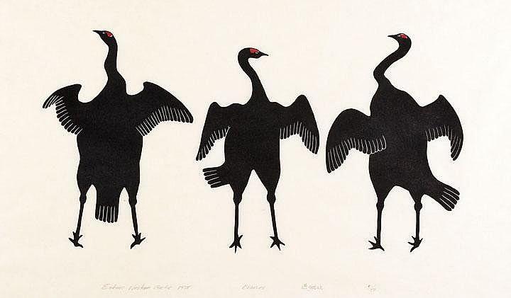 HARRY EGUTAK (1925-D), ULUKHAKTOK (HOLMAN)