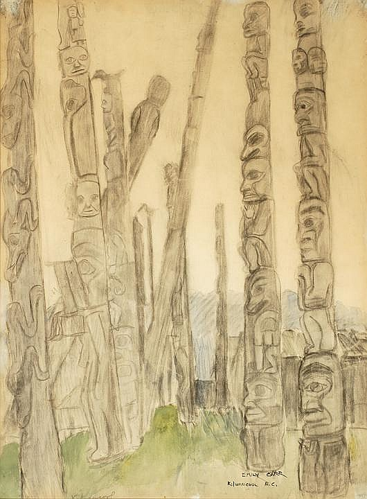 Emily Carr 1871-1945 BSCFA RCA