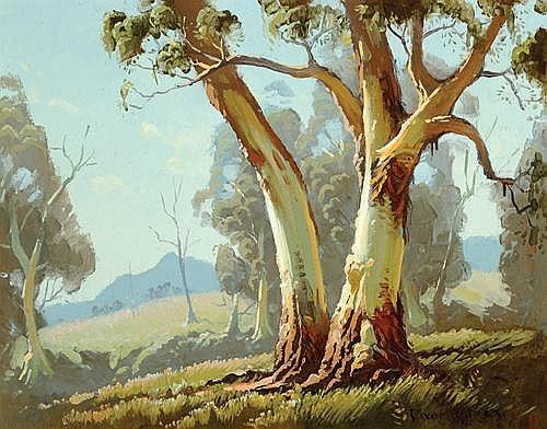 Painting by Dixon Copes Australian